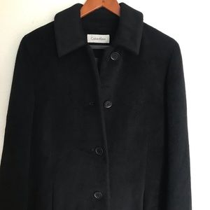 Calvin Klein Jackets & Coats - Calvin Klein Black Long Coat